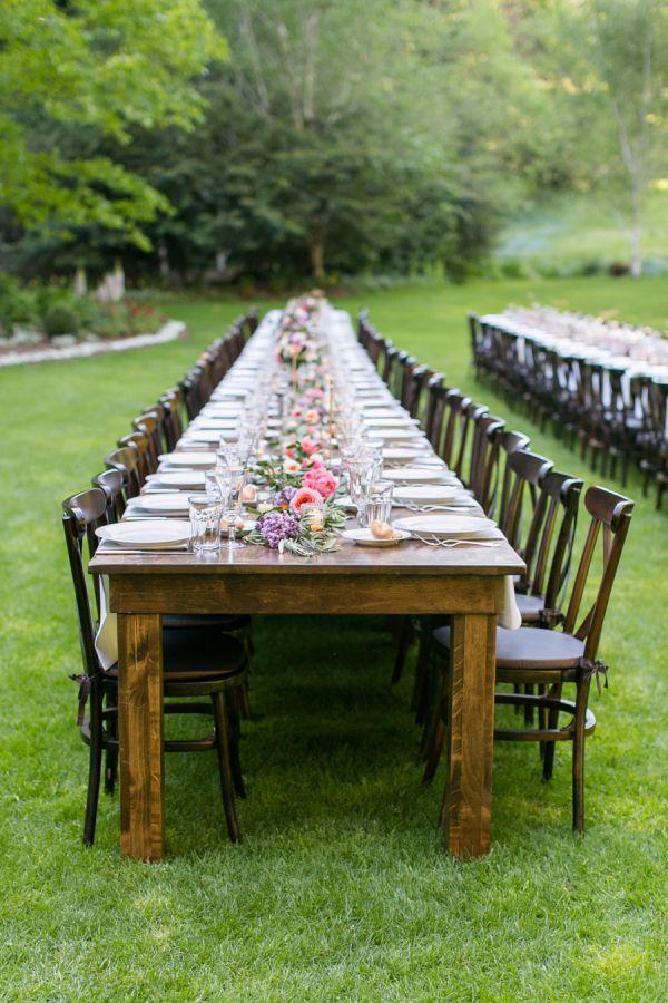 Colorful + Whimsical Garden Wedding - Elizabeth Anne Designs_ The Wedding Blog