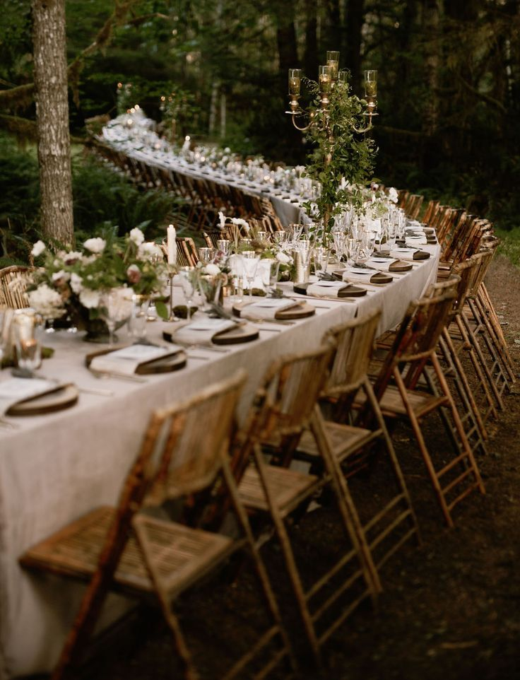 The Family-Style Dinner Table in the Woods_.